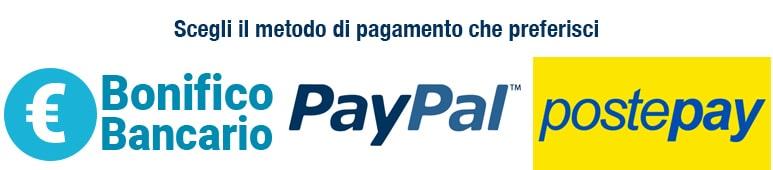 logo postepay paypal bonifico