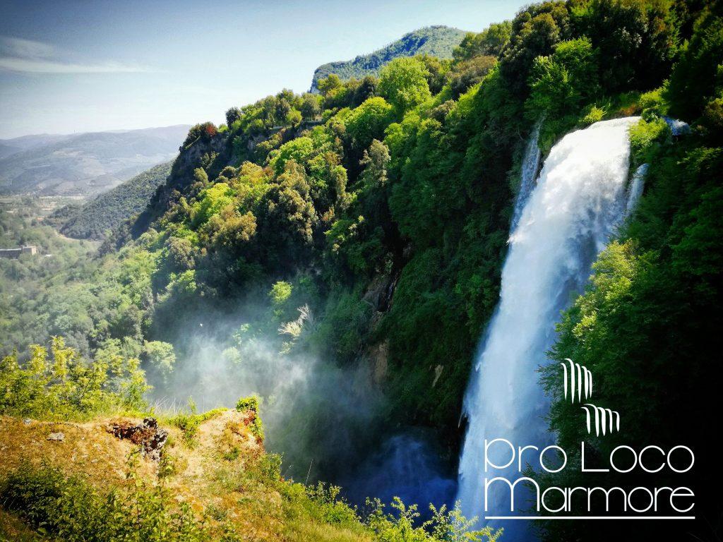waterfall marmore